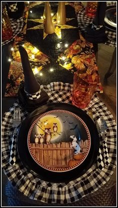 Panoply: Hallows' Evening Tablescape Celtic Festival, Black Dinner, All Saints Day, Host A Party, Halloween 2020, Samhain, Blue Moon, Hallows Eve, Stars And Moon