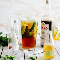 """A classic jug of Pimm's with CAPI Dry Ginger Ale and Lemonade this Friday to try and cool down in this heat! #summerheat #tgif #pimms #mixingwithcapi"""