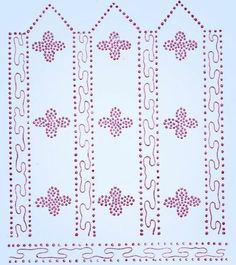 1920s Flapper Beading Clothes Trim Transfer 1922 Uncut McCall Design | eBay