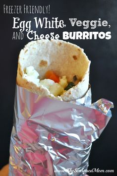 Freezer Friendly Egg White, Veggie, and Cheese Burritos on MyRecipeMagic.com:These Freezer-Friendly Egg White, Veggie, and Cheese Burritos are the perfect solution to help you maintain your healthy habits even on the busiest days.