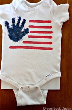 Have baby help decorate their super cute summer onesie :)