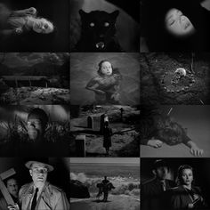 Beautiful frames from VAL LEWTON's horror movies.