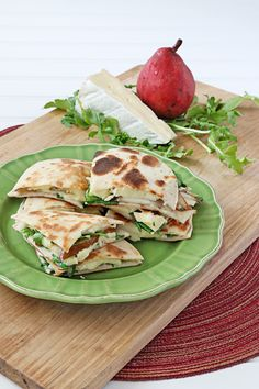 Pear and Brie Quesadillas | Udi's® Gluten Free Bread