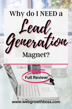 How do you build an email list and convince your website visitors to turn into email subscribers? By offering a high-value lead magnet. Not sure what that is? Click through to find out more.... #makingmagnets #leadmagnets #buildemaillsit #emailmarketingstrategy Email Marketing Strategy, Affiliate Marketing, How To Make Magnets, Make Real Money Online, Lead Magnet, Your Email, Email List, Lead Generation, How To Find Out