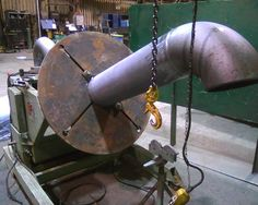 That is a large welding positioner  Another day - WeldingWeb™ - Welding forum for pros and enthusiasts