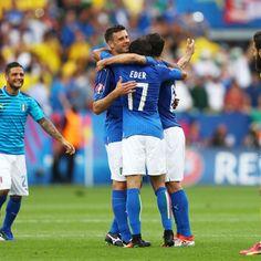 Italy coach Antonio Conte hails win in 'rough' Euro 2016 game vs. Sweden