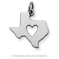 Love this!! Deep in the Heart of Texas Charm from James Avery