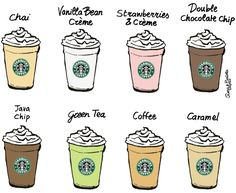 """""""The drinks! Blends fast, drinks slow lines out miles out the door, impatient customers still stay in for that starbux frappo."""""""