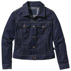 Patagonia Women's Denim Jacket - at Moosejaw.com