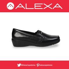 Zapatos negros para tus días de trabajo. Te sentirás cómoda y a la moda