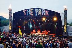 The Park stage at Glastonbury Festival