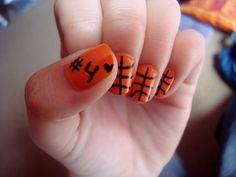 Basketball nails-when basketball season starts!