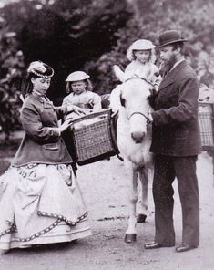 Princess Alice and Grand Duke Louis of Hesse and by Rhine with VMH and Ella.