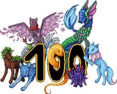 Gratulation zur 100. Fanart an Aldena :)