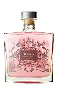 Rhuby Liqueur Bottle