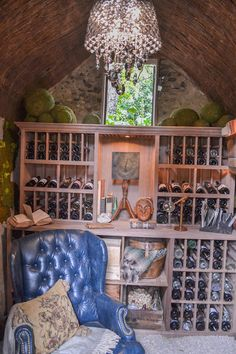 2014 Pasadena Showcase House Of Design   Creekside Spring House   Wine  Cellar   Mystic Water Gardens | 2014 Pasadena Showcase House Of Design |  Pinterest ...