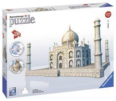 216 Piece 3D Taj Mahal Puzzle w/Accessory Pieces