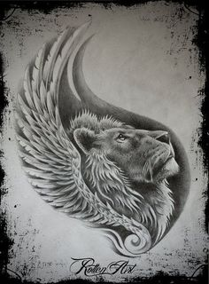 Beautiful Lion Tattoo Drawing | Tattoos | Pinterest | Lions and Tattoo