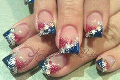 Happy 4th of July nails