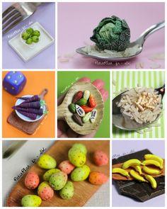 Miniature fruit and veggies, daily art challenge, Stephanie Kilgast