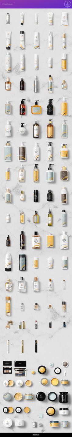 Cosmetic Packaging Branding MockUp by Mockup Zone on Creative Market Mock-Up te… – Design Skincare Packaging, Beauty Packaging, Cosmetic Packaging, Perfume Packaging, Label Design, Packaging Design, Branding Design, Branding Template, Mockup Templates