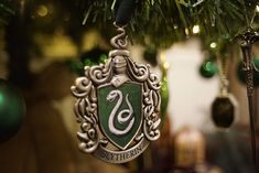 Kathryn Burnett from Seaham, England has decorated her Christmas tree with a lot of Harry Potter ornaments and paraphernalia. During her various visits to Warner Bros. Studios, Burnett has been collecting these items - and it took her about eight hours to decorate the tree with all the ornaments for display.