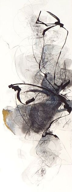 White Memories by Kitty Sabatier #abstractart