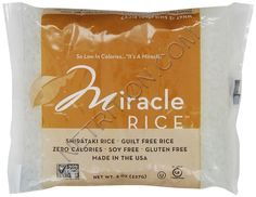 Miracle Noodle Miracle Rice