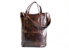Briefcase in Java Brown | Jenny N. Design
