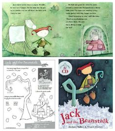 Jack and the Beanstalk. A magical retelling of a classic tale. Retold By: Richard Walker  Illustrated By: Niamh Sharkey.  FREE activity pdf. HC book w/ Story CD $13.59 on sales this month, from Barefoot Books