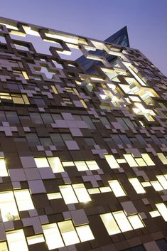 The Cube, Birmingham, UK  by Make Architects