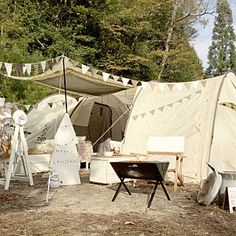 Camping Style, Aesthetic Vintage, Glamping, Colonial, Tent, Tropical, Diy Projects, Patio, Outdoor Decor