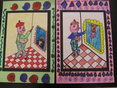 ... own versions of pigasso painting matisse and matisse painting pigasso