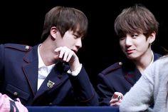 jin and Jungkook Jungkook And Jin, Bts And Exo, Bts Bangtan Boy, Vmin, Jikook, Seokjin, Army Love, Worldwide Handsome, I Love Bts