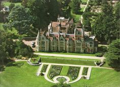 George Harrison's Friar Park estate in Henley-on-Thames, Oxfordshire. The Friar Park estate was owned by Sir Frank Crisp from 1875.
