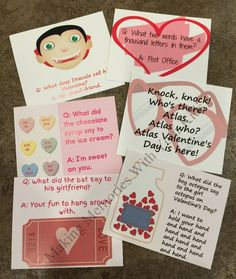 Valentine's Day Lunch Box Notes - Making Memories With Your Kids Lunch Box Notes, Jokes For Kids, Making Memories, Educational Activities, Valentines Day, Letters, Holiday, Fun, Crafts