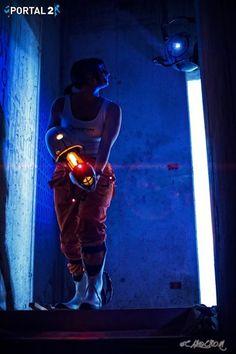 Chell (Portal 2) 3 by GidanKuroki-Cosplay.deviantart.com on @DeviantArt