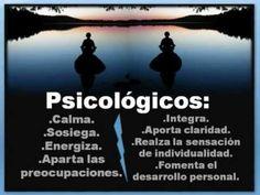 BENEFICIOS PSICOLÓGICOS DE LA MEDITACION