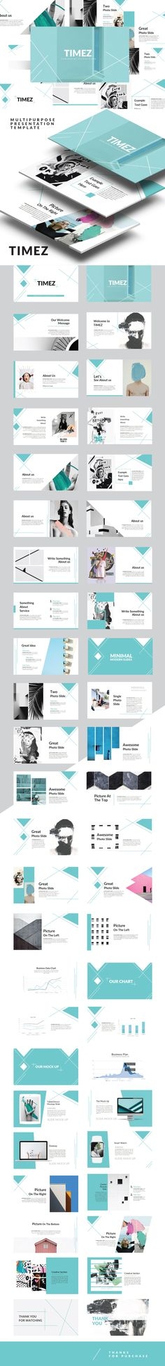 Timez Multipurpose Presentation Template - #PowerPoint #Templates Presentation Templates Download here: https://graphicriver.net/item/timez-multipurpose-presentation-template/19374218?ref=alena994