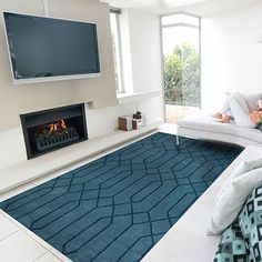 152x229 Hexagons Rug by Design Innovations #MONOQI