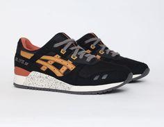 #Asics Gel Lyte III Black Tan #Sneakers