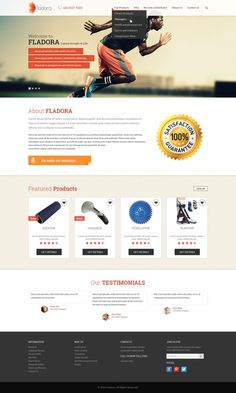 Sports and Health Manufacturer website by vikjain