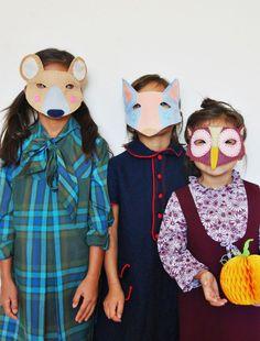 Cute Animals Felt Masks