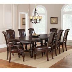 costco - berkeley 10-piece dining set | dining room lovin' | pinterest