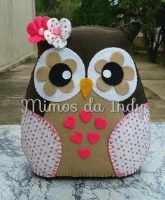 Image result for owl felt crafts