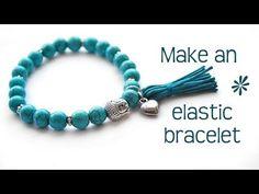 ▶ Make a stretch elastic bracelet - best tips! - YouTube