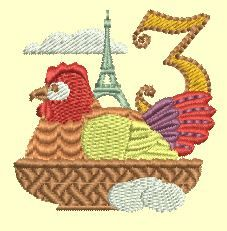 sit proudly under the Eiffel Tower with their national colors flying. or charm size available. San Francisco Stitch Co. Christmas Cards To Make, Christmas Pillow, 12 Days Of Christmas, Christmas In July, Christmas Ornaments, Christmas Ideas, Merry Christmas, Machine Embroidery Applique, Wool Applique