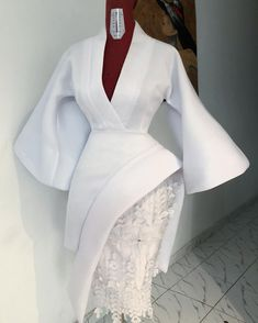 We have been so busy cooking up something special. But how about this pretty white number while we anticipate. African Wear Dresses, Women's Dresses, Latest African Fashion Dresses, African Print Fashion, African Attire, Event Dresses, Dress Outfits, Lace Dress Styles, African Traditional Dresses