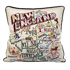 This place makes regional, state, and city pillows. I want all the New England/Mass/Boston ones!