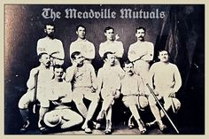 Crawford Messenger: The Meadville Mutuals: Baseball Champions of 1875 Crawford County, Champion, Baseball, History, Sports, Movie Posters, Baseball Promposals, Historia, Excercise